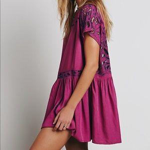 Free People Ayu Dress Purple Size S
